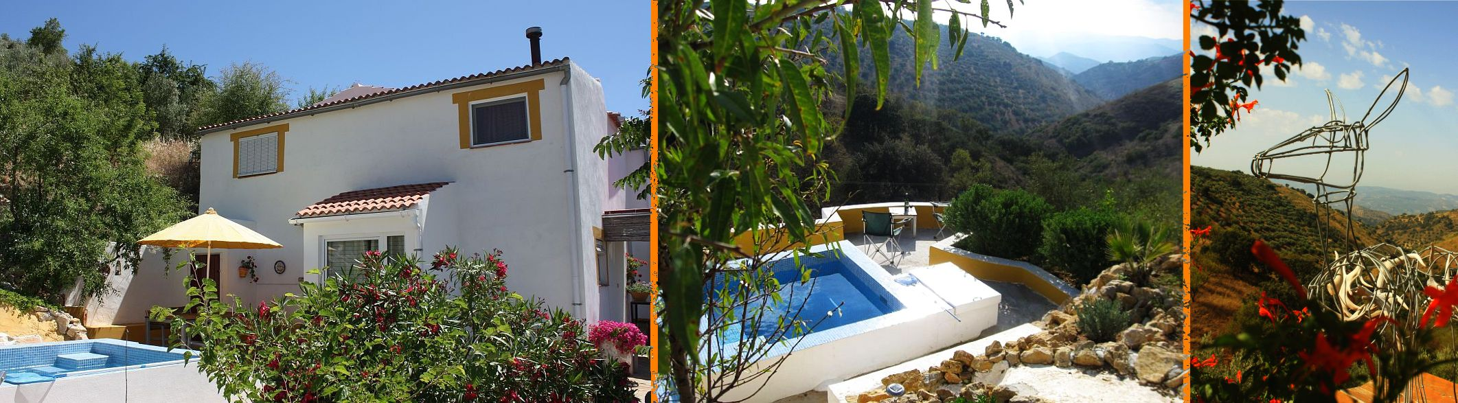 casa con guiño and view in the heart of Andalusia
